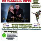 Giusy e Gianluca con G.S.I – FESTA DI CARNVALE – 23 Febbraio 2019